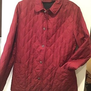 Burberry Quilted Jacket EUC